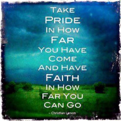 faith in how far